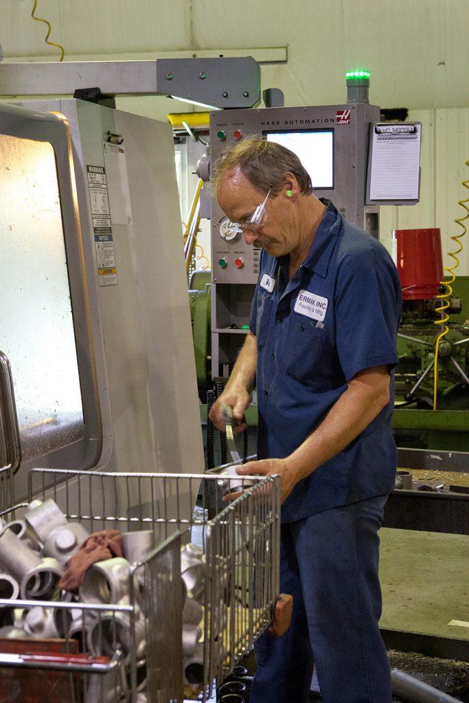 Ermak in house machine shop