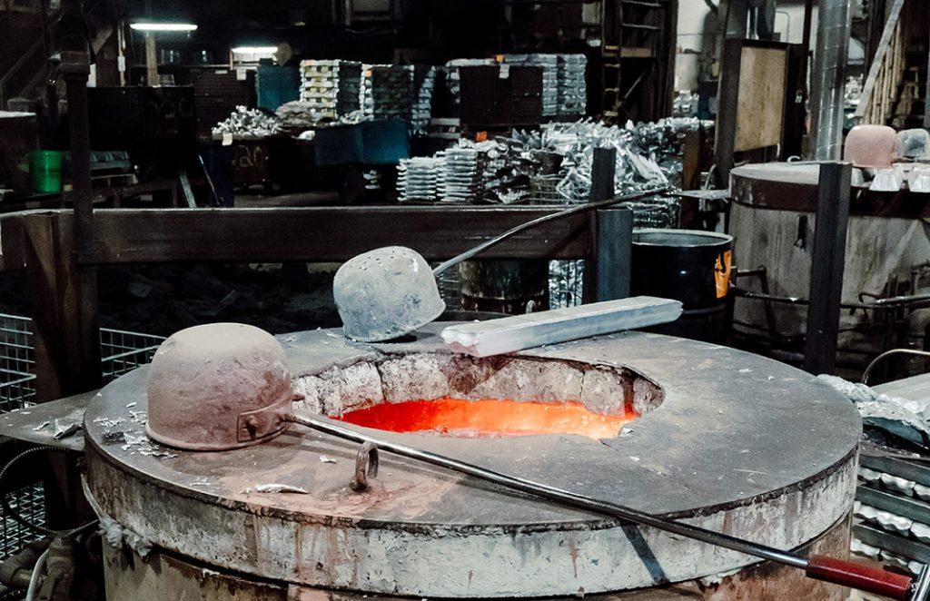 Melting Aluminum Alloy