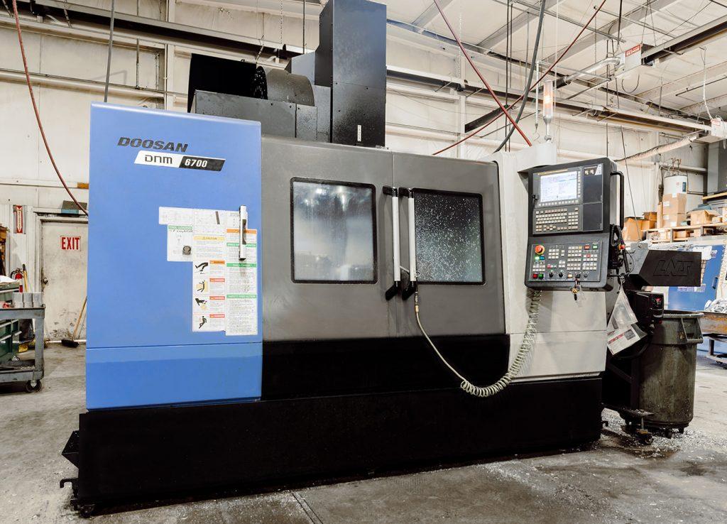 Ermak Foundry shop floor—DOOSAN DNM 6700 CNC global standard vertical machining center
