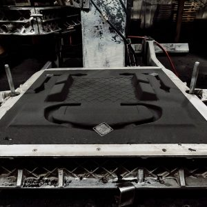 Sand cast mold process